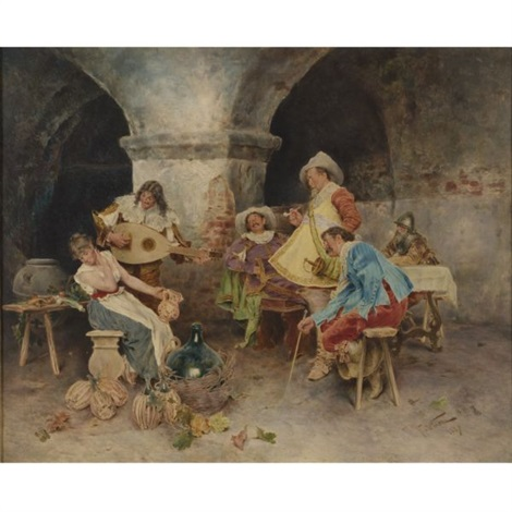 francesco-vinea-serenade-in-the-tavern
