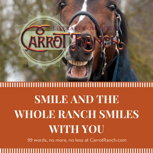 smile-at-carrot-ranch